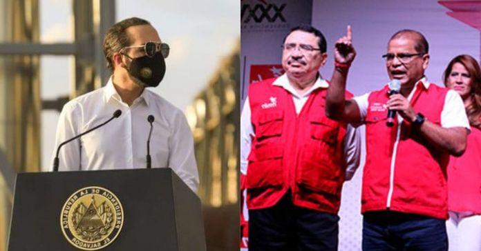 FMLN dice que EE.UU. es quien realmente manda en El Salvador no el Presidente Bukele