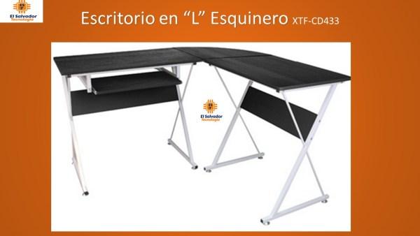 """Escritorio en """"L"""" Esquinero XTF-CD433"""
