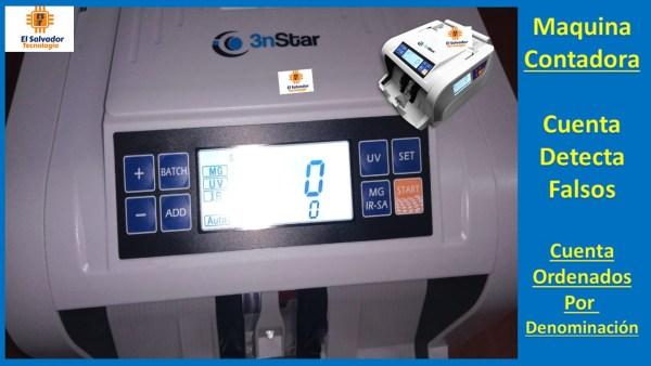 Contadora de Billetes 3nstar-El Salvador Tecnologia-4