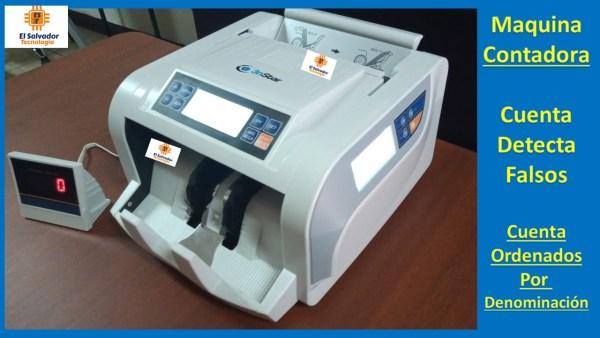 Contadora de Billetes 3nstar-El Salvador Tecnologia-5