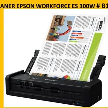 ESCANER EPSON WORKFORCE ES 300W # B11B242201