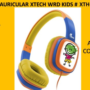 AURICULAR XTECH WRD KIDS # XTH-350OR