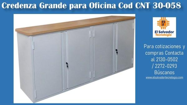 Credenza Grande para Oficina Cod CNT 30-058