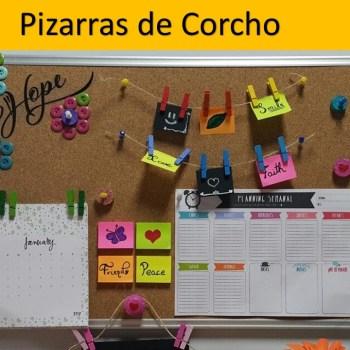 Pizarras de Corcho-Ver Mas