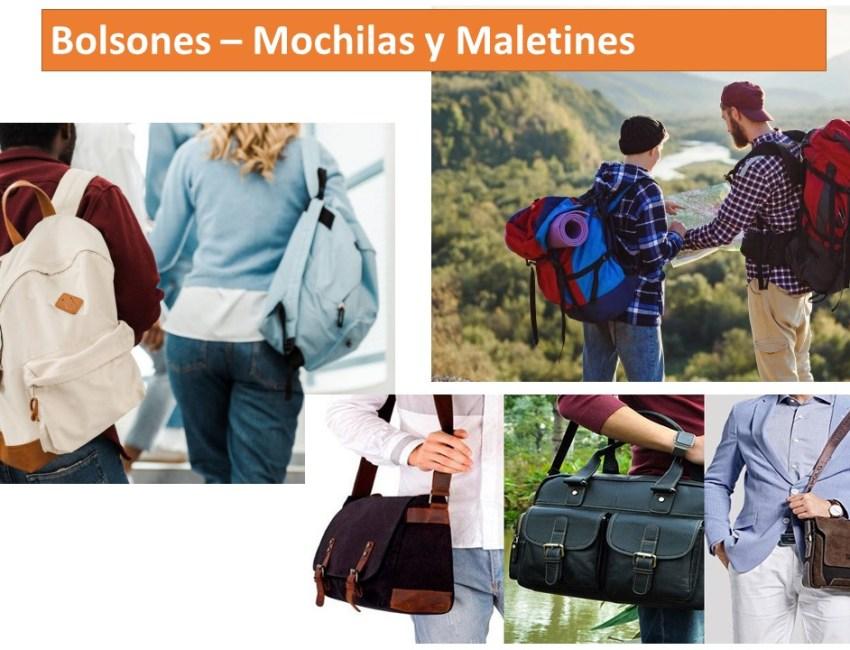 Bolsones Mochilas y Ma