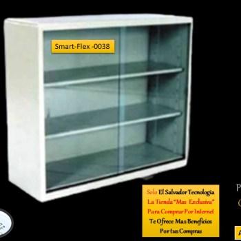 Librera Metalica Horizontal Puertas de Vidrio SmartFlex0038 El Salvador Tecnologia