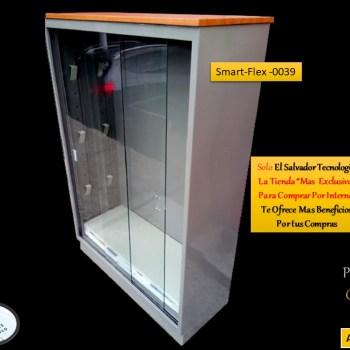 Librera Metalica Vertical Puertas de Vidrio SmartFlex0039 El Salvador Tecnologia