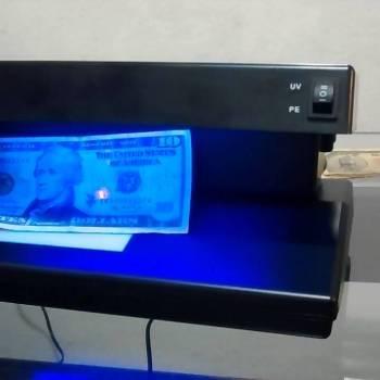 Detectoras de Billetes Falsos