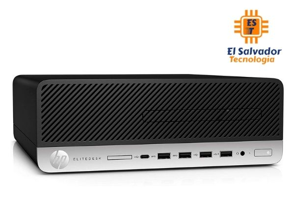 Computadora HP EliteDesk - Mini tower - 3AD02AV#002