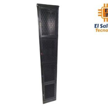 Locker Metálico de 1 Cuerpo 4 Puertas Rejilla de Malla CNT