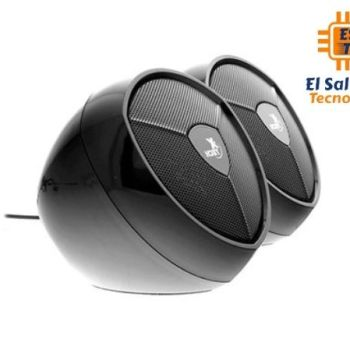 Altavoz estéreo de 2.0 canales con alimentación USB y cable de 3,5mm Xtech IKONIC - XTS-111
