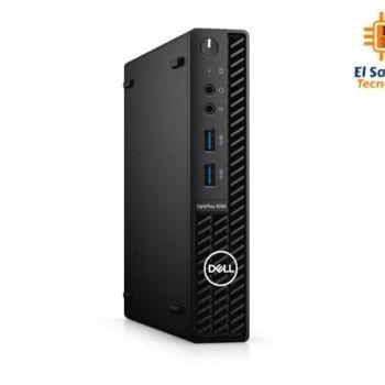 Computadora de Mesa – Solo CPU – Dell OptiPlex 3080 MFF - Intel Core i3 10100T - 4 GB Ram - 500 GB HDD - Windows 10 Pro - 8WR3M