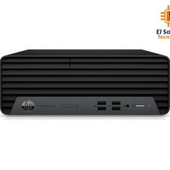 Computadora de Mesa – Solo CPU – HP ProDesk - Intel Core i7 10700 - 8 GB Ram - 1 TB HDD - Windows 10 Pro - 3V6J9LT#ABM