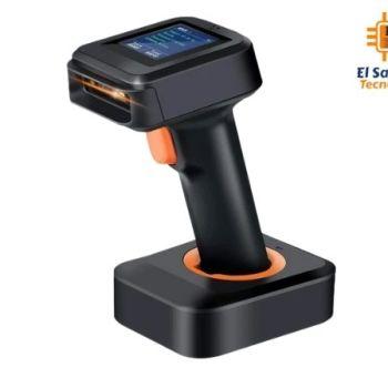 Lector de codigo de barra Tera con pantalla - Bluetooth - Wireless - USB - 1D 2D QR
