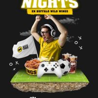 Regresan las Gaming Nights de Buffalo Wild Wings