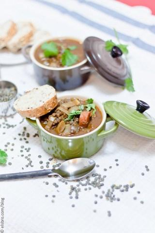Slow Simmered Lentil Soup