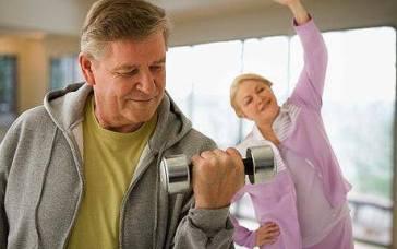 ejercicios de pesas adultos mayores
