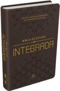 Bíblia de Estudo Integrada - Marrom