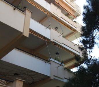 Επισκευή πολυκατοικίας στο Μαρούσι