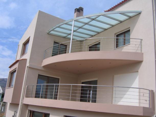 νέο κτίριο με εξωτερική θερμομόνωση στον Ν.Βουτζά