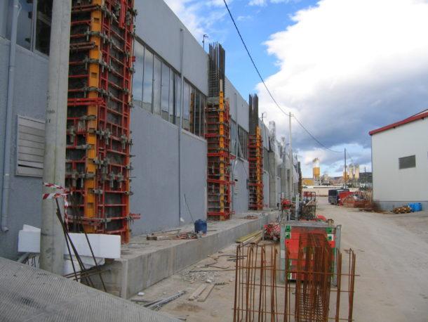ενισχύσεις κτιρίων κολόνες
