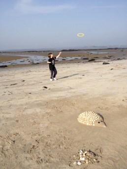 Dan preferred to play frisbee with Grandad