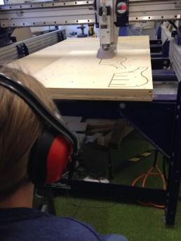 CNC in progress
