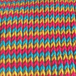 Tunisian crochet knit stitch