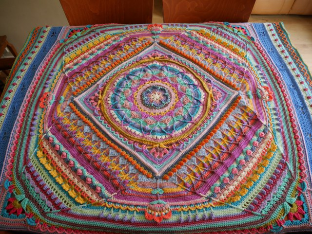 Sophie's Universe on the dining table