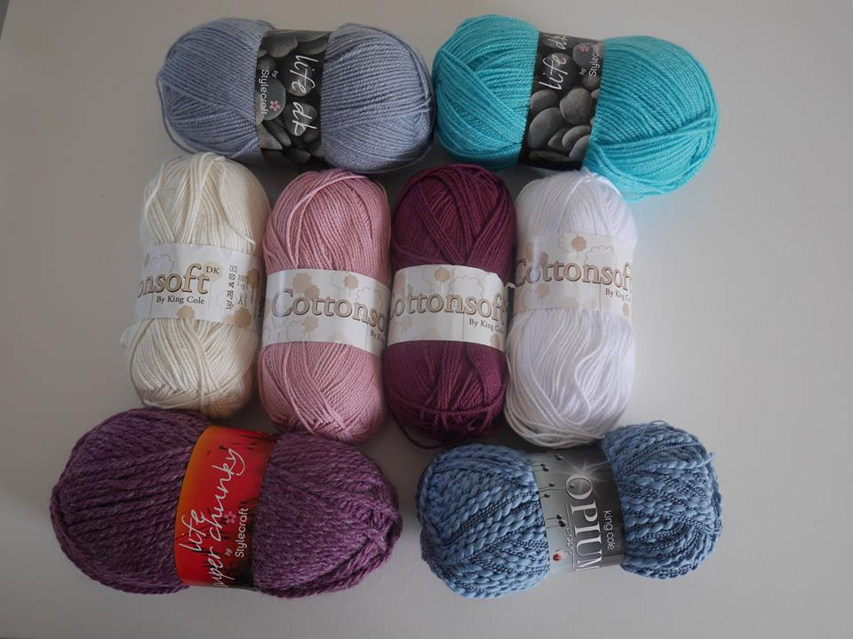 Yarns I bought in Somerset