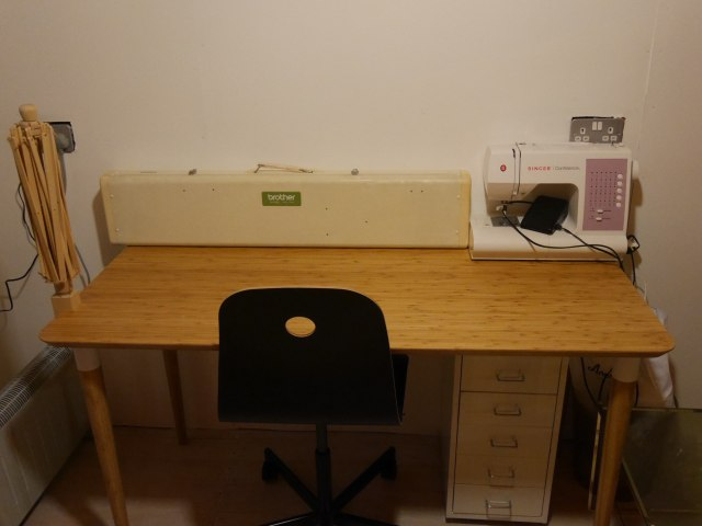 Hilver desk from Ikea