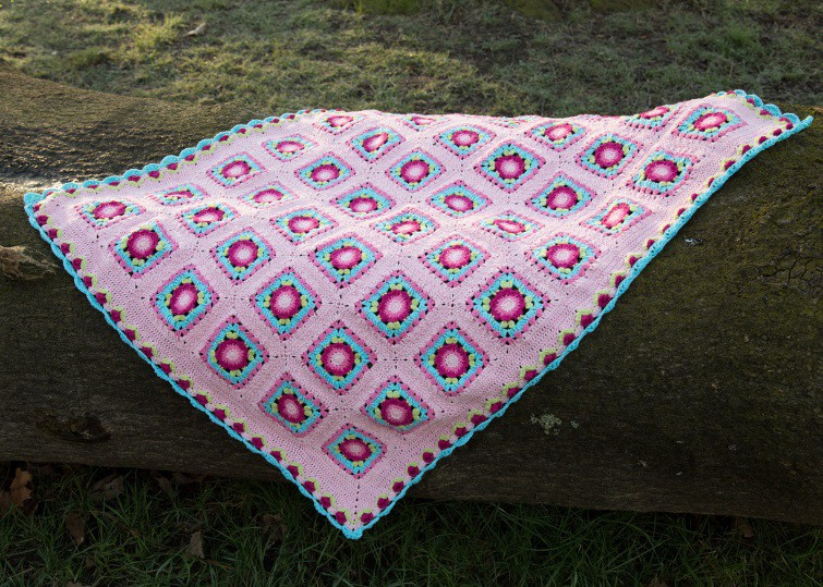The Lydia Blanket crochet