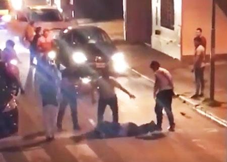 Justicia Popular: Vecinos detienen y le dan una golpiza a un chorro en BARRIO SUR(VIIDEO)