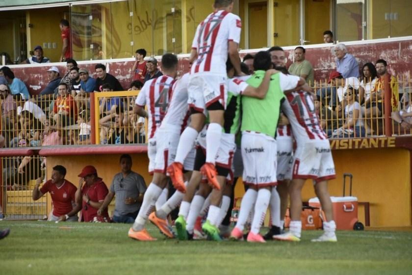 San Martín le ganó 2 a 1 a Boca Unidos en Corrientes
