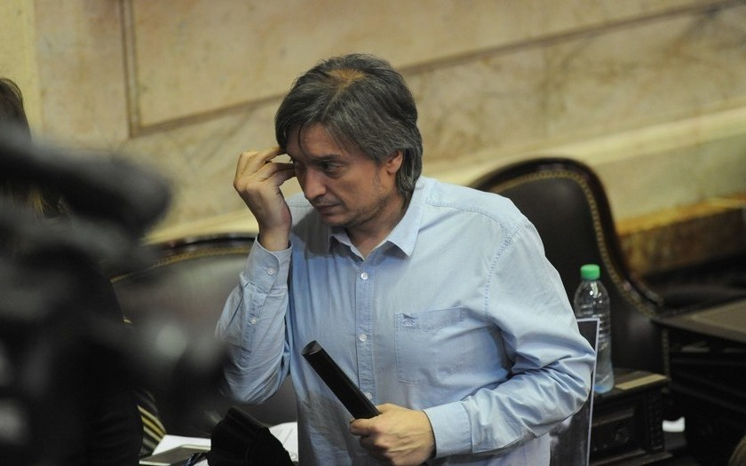 """Máximo Kirchner repudió el ataque a Martin Lousteau pero critico que ni él ni su familia recibieron nunca """"tanta solidaridad"""""""