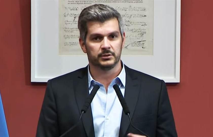 """El jefe de gabinete Marcos Peña, contra los diputados K: """"Se convirtieron en piqueteros"""""""