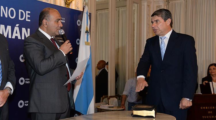 Juró el comandante Claudio Maley como nuevo ministro de Seguridad