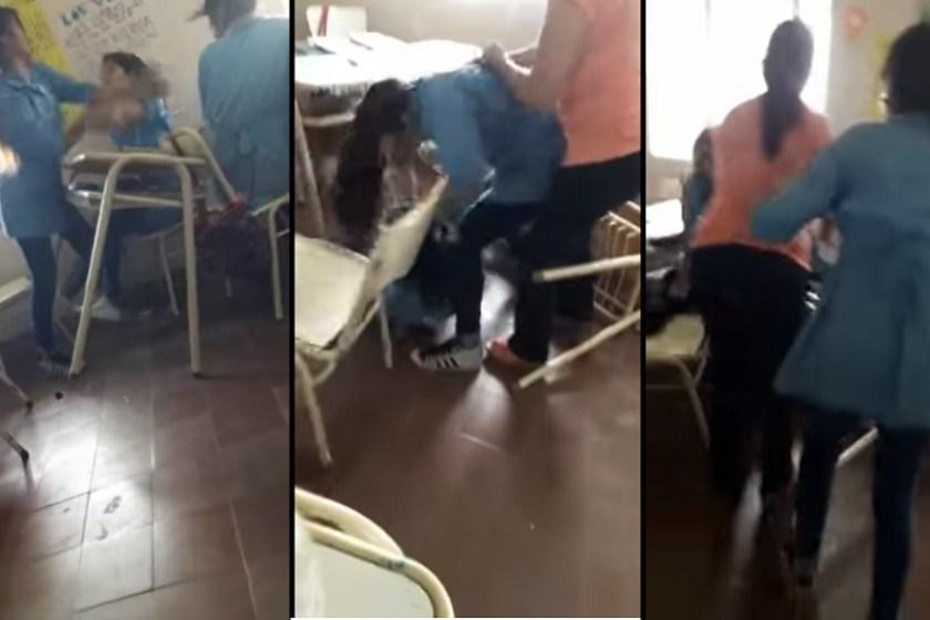 Violencia en el aula: filman a una alumna agrediendo a su compañera