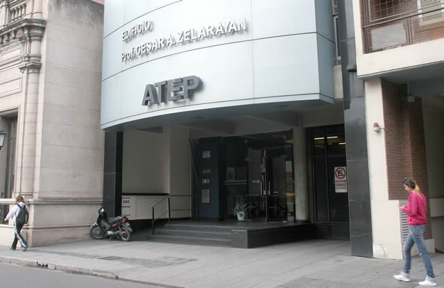 Atep comunicó que se suma al paro de este lunes