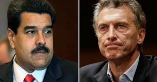 """El dictador Maduro llamó a Macri """"rata de cañería"""" y """"padrino de la derecha fascista"""""""