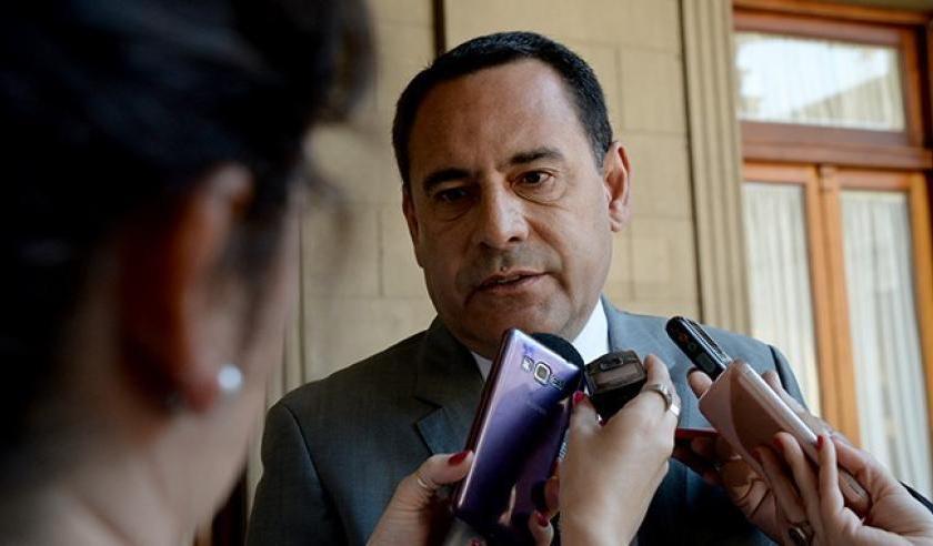 El ministro Regino Amado anticipó que el 18 de junio comenzará el pago del medio aguinaldo a los estatales