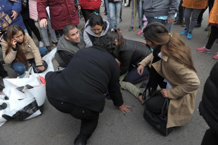 ASESINATO DE LA MANIFESTANTE: La autopsia desmiente al taxista que la mató