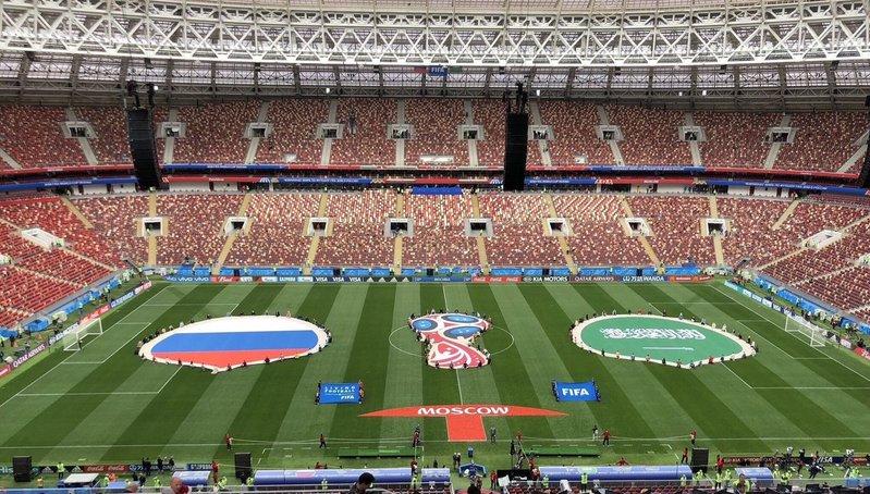 Inauguración Mundial Rusia 2018 + Partido Inaugural (Rusia – Arabia Saudita)(EN VIVO)