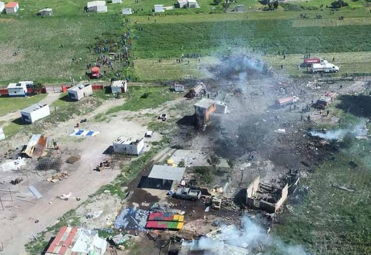 La explosión de un depósito de polvora dejó al menos 20 muertos en México