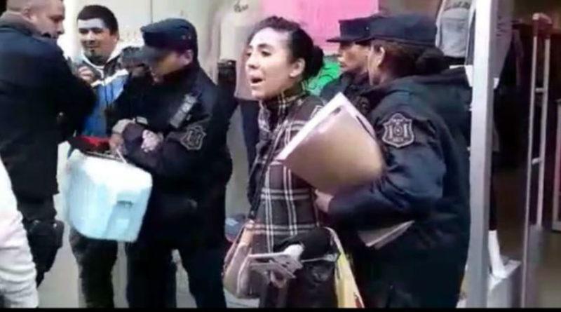 La policía de Salta detuvo a una joven por filmar un procedimiento en la vía pública