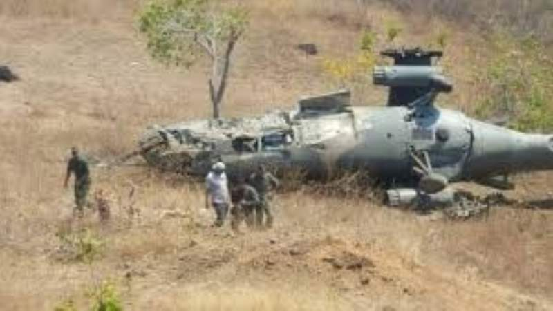 VENEZUELA: Cayo un helicóptero cerca de Caracas hay 7 muertos