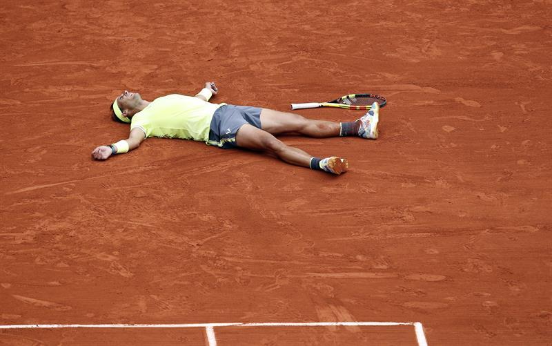 TENIS: Nadal logró su 12º título en Roland Garros e hizo historia
