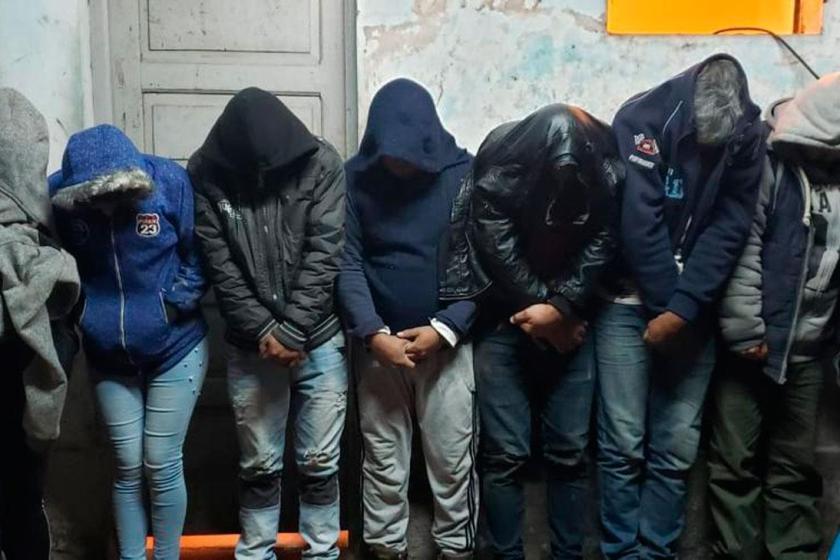 7  vecinos de El  Naranjo quedaron detenidos por protestar frente a la comuna