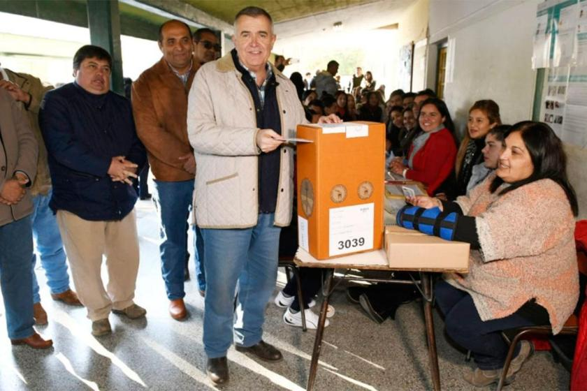 """TUCUMAN VOTA: Jaldo,  """"Es un momento muy importante en la vida de uno, gracias a la bendita democracia podemos elegir y ser elegido"""""""