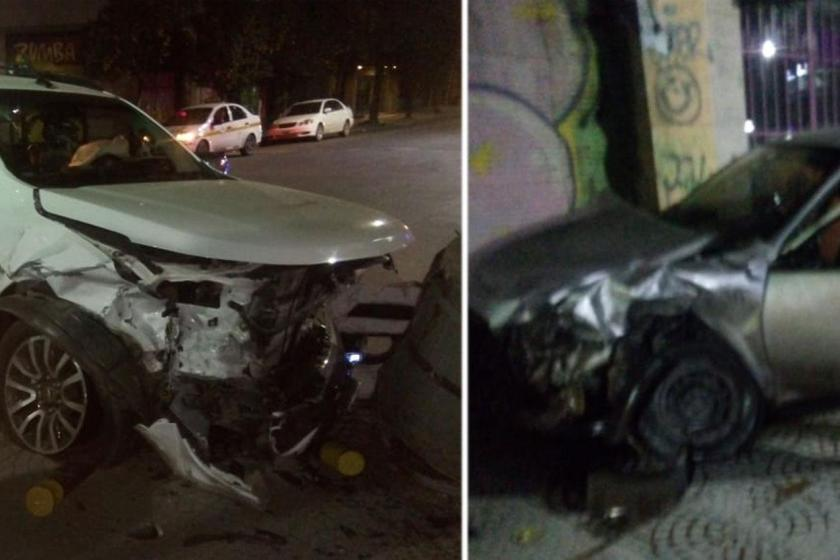 Un joven murió en un violento choque en la esquina de San Martín y José Colombres